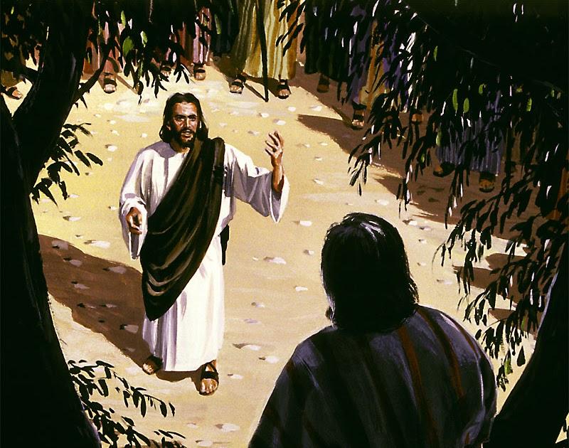 Zostań Zacheuszem – (Łk 19,1-10)
