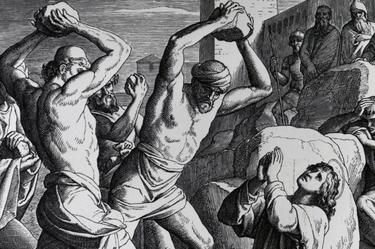 Martyrdom of St. Stephen by Julius Schnorr von Carolsfeld
