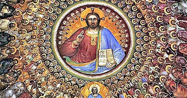 Wszystkich Świętych na ziemi i w niebie – (Mt 5,1-12a)