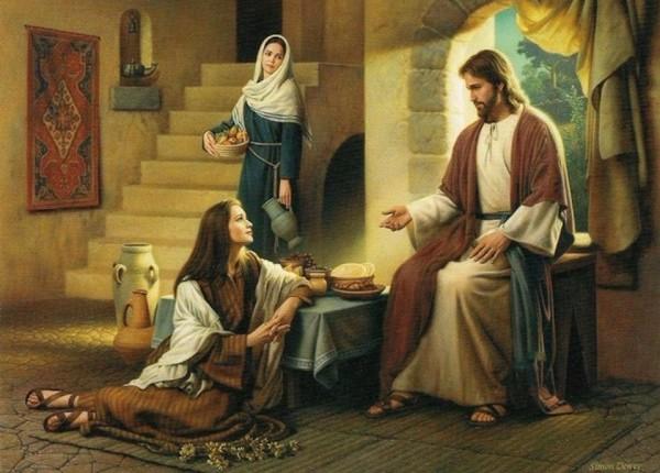 Marta i Maria – (Łk 10, 38-42)