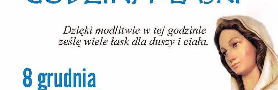 Godzina Łaski – (Łk 1,26-38)